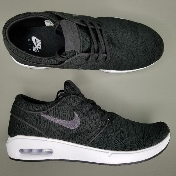 Nike SB Air Max Janoski 2 Skate Shoes 9.5 Black NWT